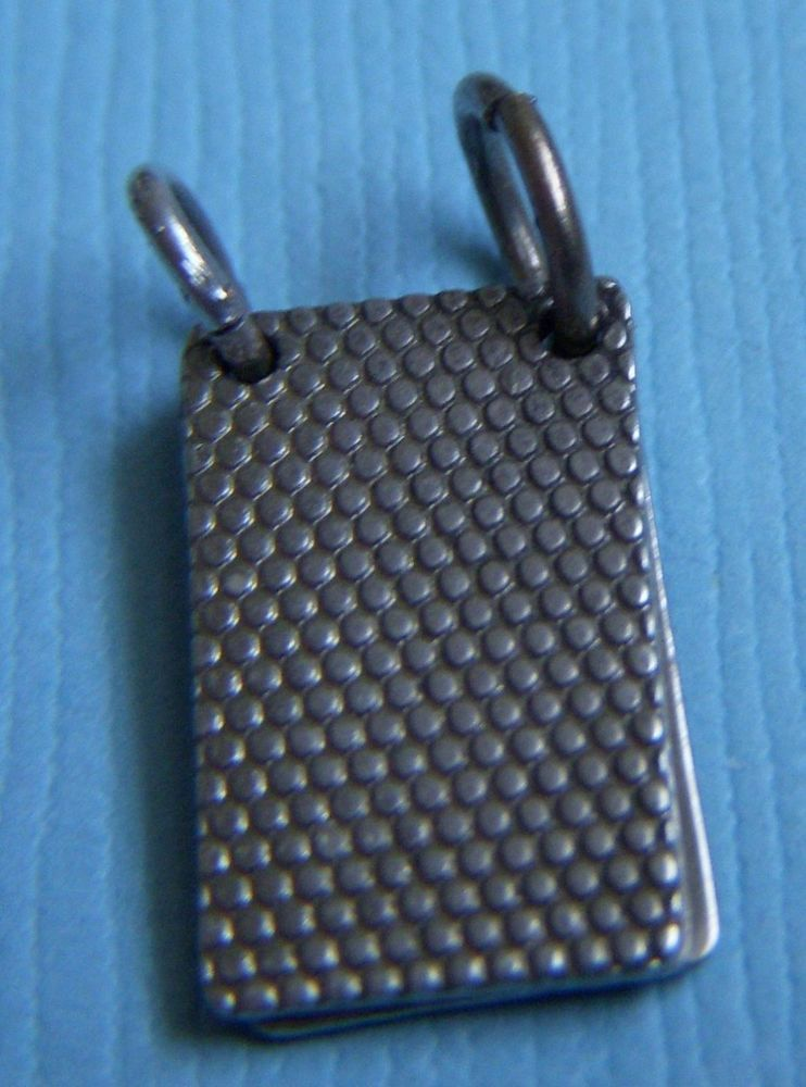 Vintage 40's movable notepad four pages sterling charm
