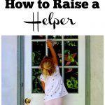 How to Raise a Helper