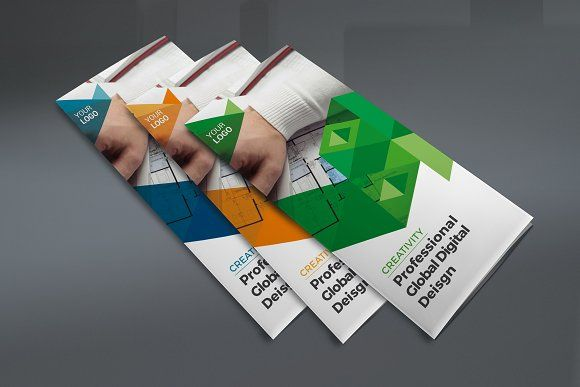 Trifold Brochure By Tastytech On Creativemarket Trifold Brochure
