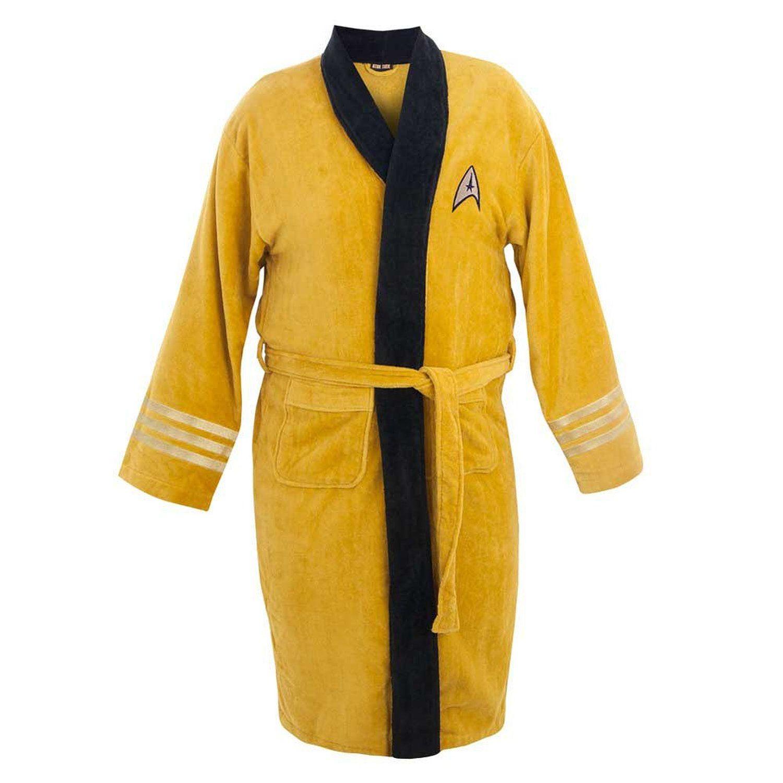 Good-Night-Star-Trek-Pajamas-Captain-Kirk-Cotton-Terry-Bathrobe-for ...