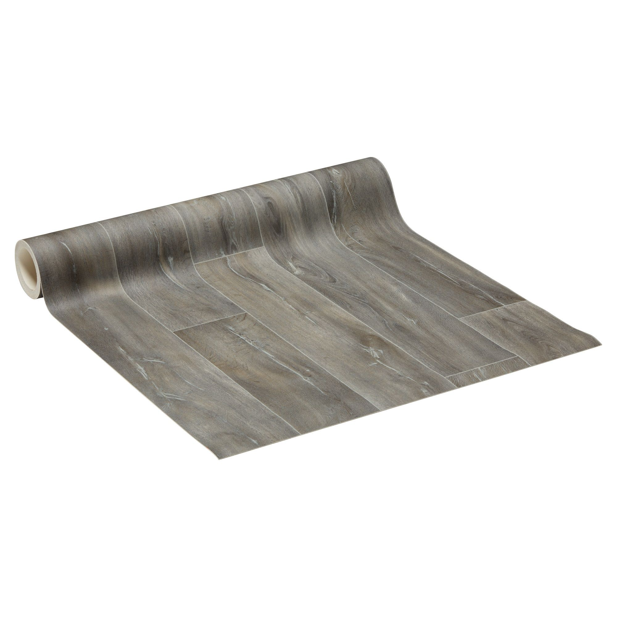 VAN 14,- VOOR 10,50 Vinyl met donkergrijs houtdessin van recyclebaar materiaal. 2,5 mm dik. #kwantum #nuofnooit