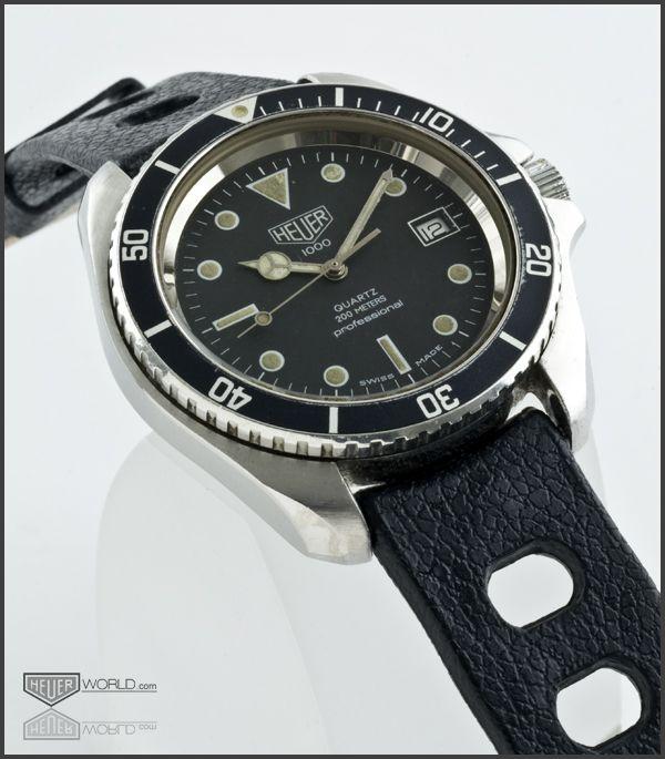 Heuer diver my fashion vintage dive watches vintage watches sport watches for Tag heuer divers watch