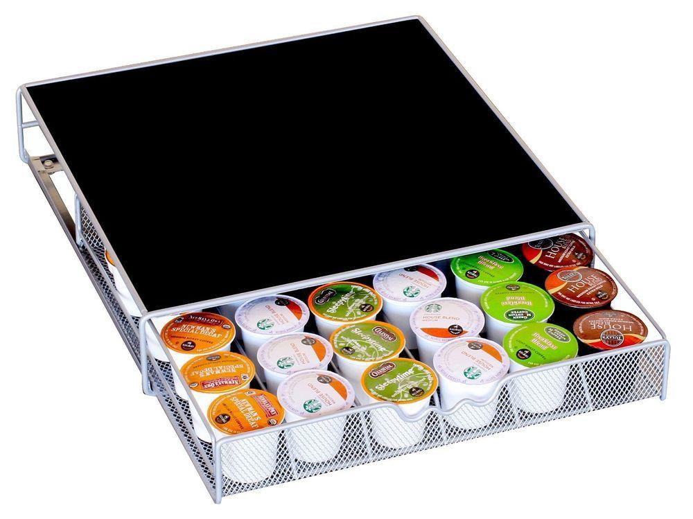 Decobros kcup storage drawer holder for keurig kcup