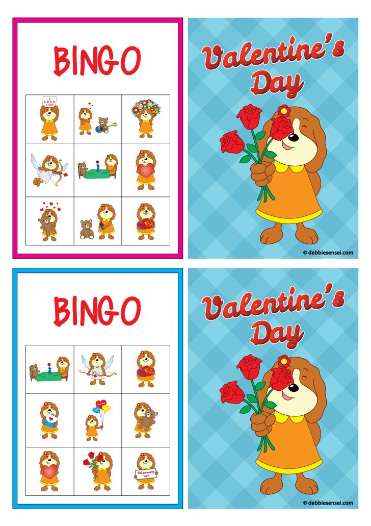 Debbie Sensei  Free ESL Valentines Day Flashcards Set One  ESL