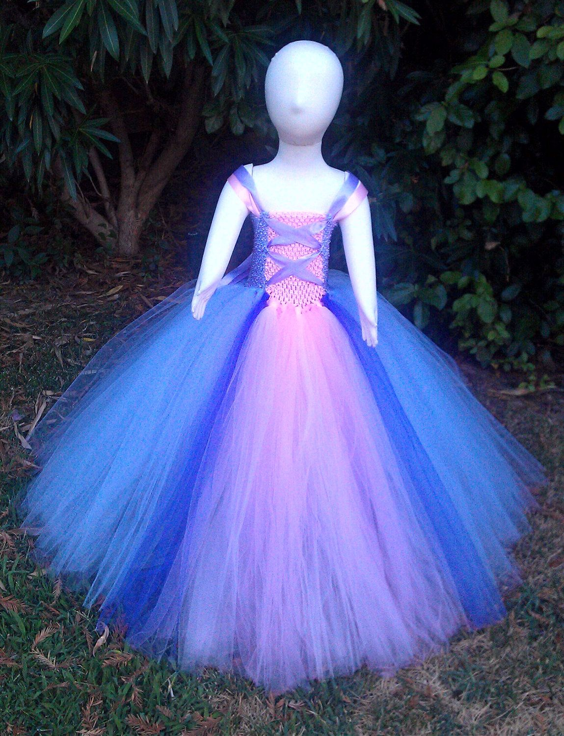 Repunzel inspired tutu dress costume by barbiesbowtique on Etsy ...