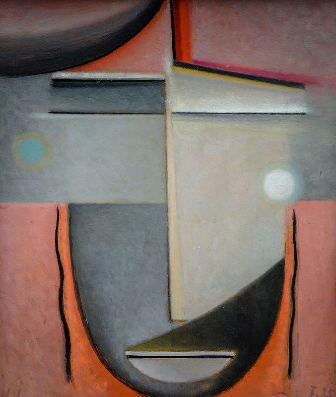 Alexej Jawlensky - Love, 1925 at Lenbachhaus Art Gallery Munich Germany
