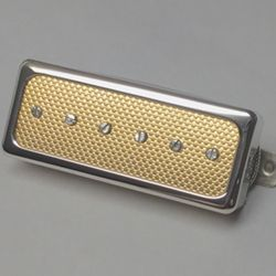 Mini Humbucker P90 Gold Foil Pickup With Images Gold Foil