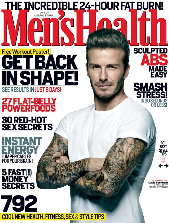 Men's Health Cover: Popular Magazine