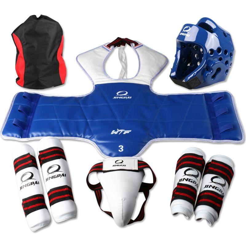 1PCS Premium Kick Boxing Tae Kwon Do Gear Head Guard Helmet Protector S-XL