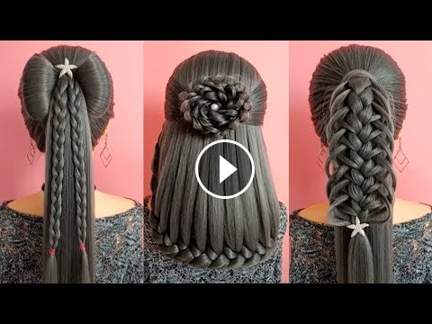 Awesome 10 Best Easy And Cute Hairstyles On Dailymotion Easy Hairstyle Video In Urdu In 2020 Easy Hairstyle Video Braided Hairstyles Cute Simple Hairstyles