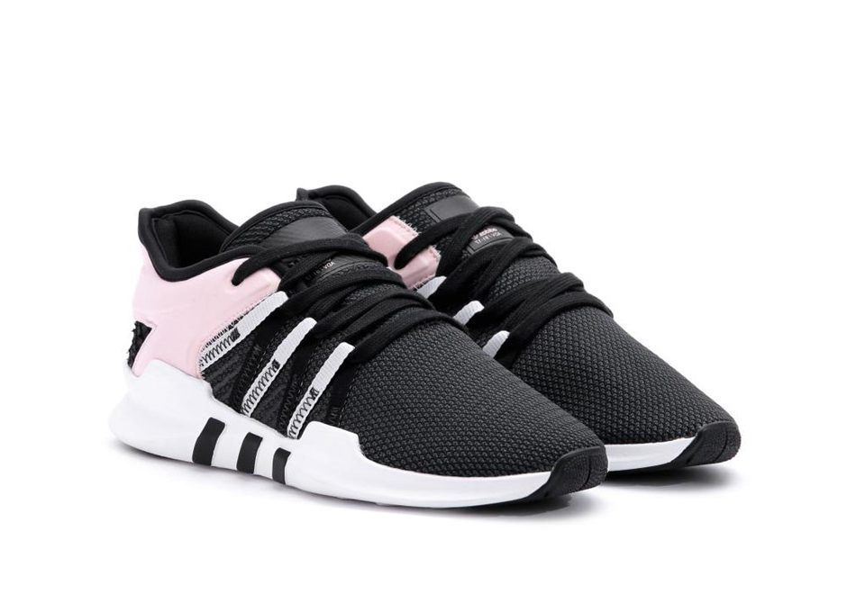 sports shoes 01add 6bce7 adidas EQT Racing ADV Womens Black White Pink | Adidas Shoes ...