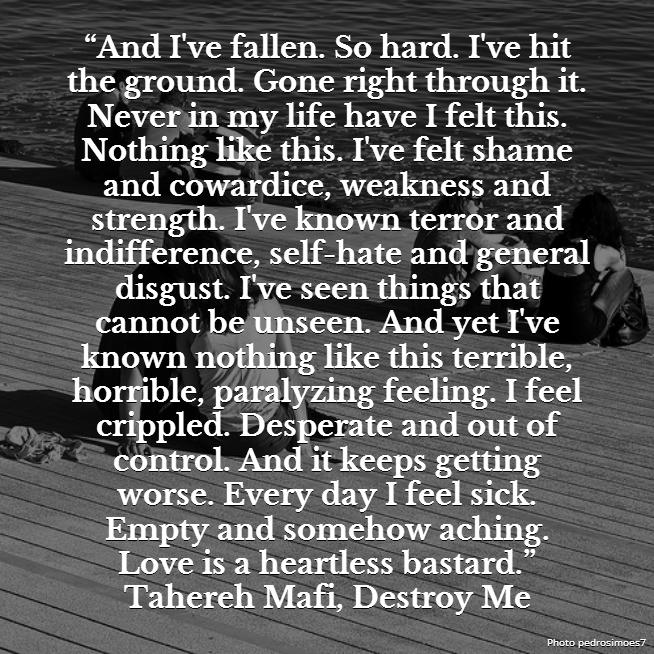 Tahereh Mafi, Destroy Me