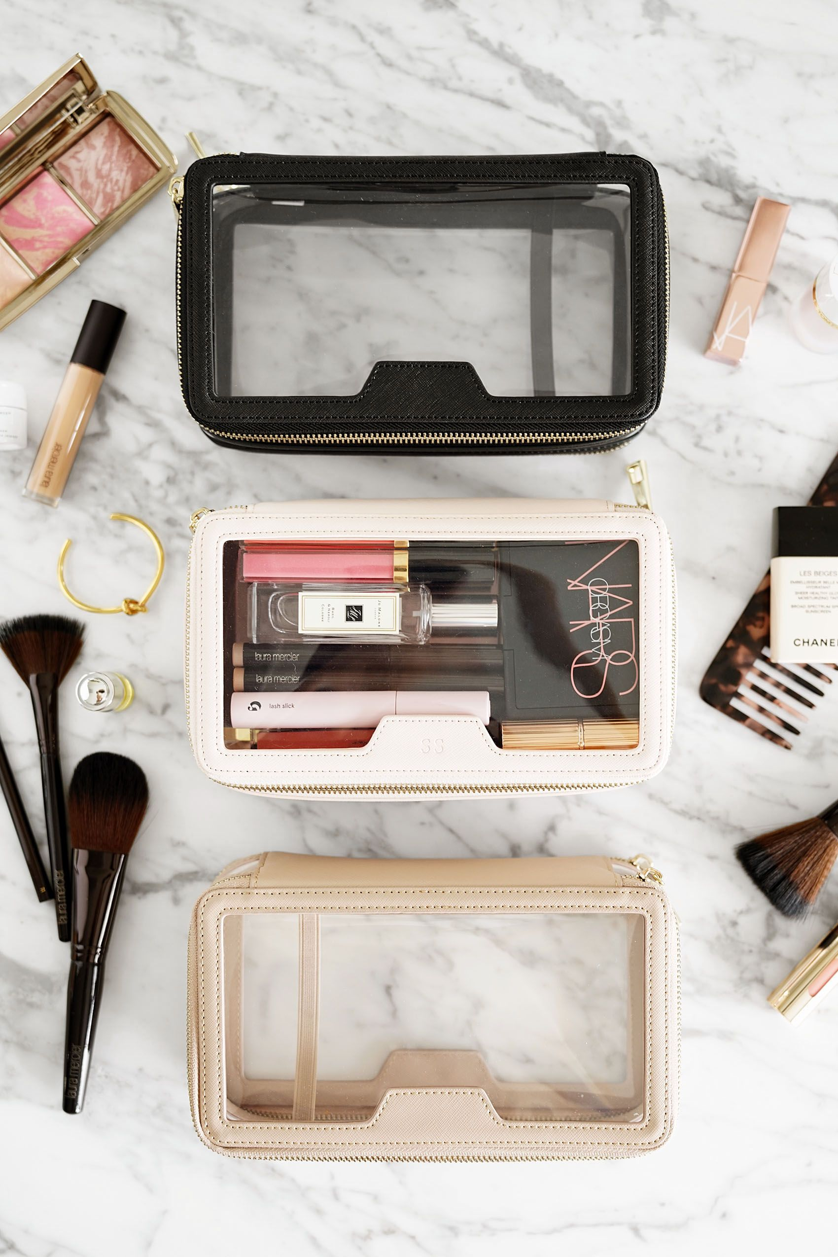 71262428fcb2 The Daily Edited Transparent Cosmetic Case review