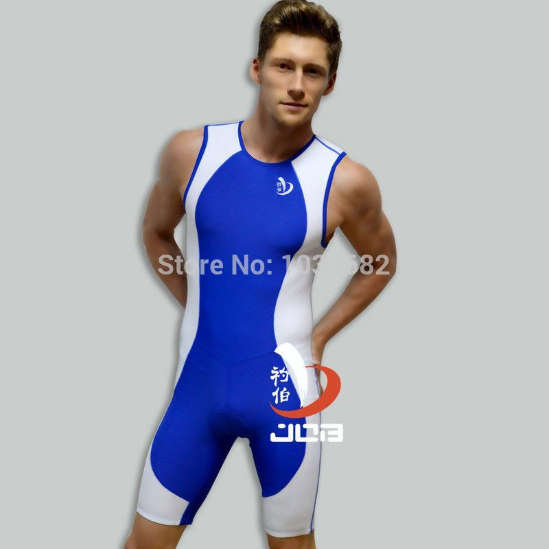 8ef729ebb12 Job one piece men professional athletic swimwear Ironman triathlon suit tri  training cycling running swimming mens boys tri suit