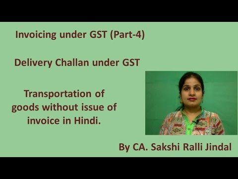 Transportation Of Goods Without Issue Of Invoice Under Gst Invoicing U Transportation Best Invoicing