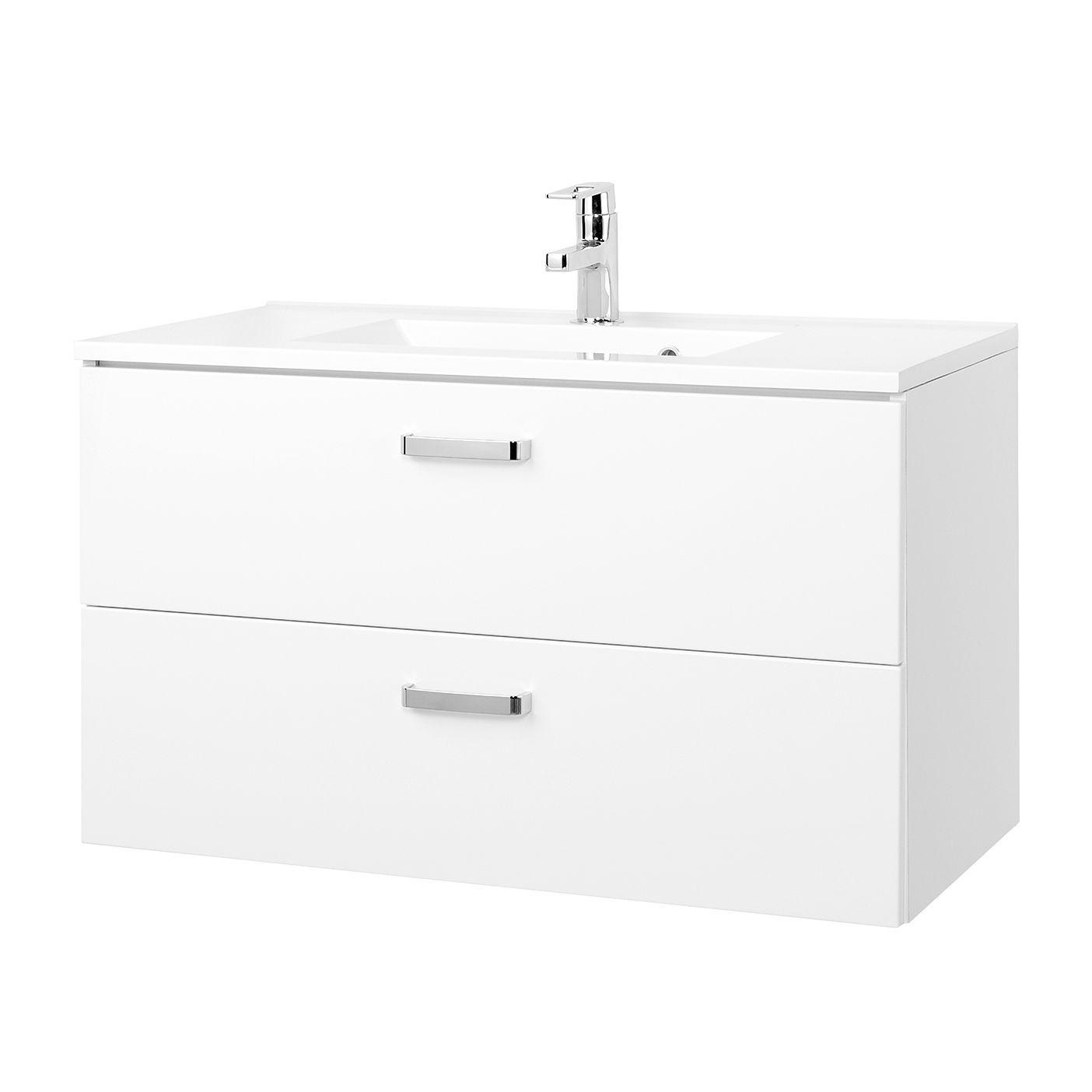 Waschtisch Zeehan - Weiß - 90 cm, Giessbach Jetzt bestellen unter ...