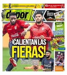 Noticias deportivas del Perú y el Mundo Liga 1 Perú vs