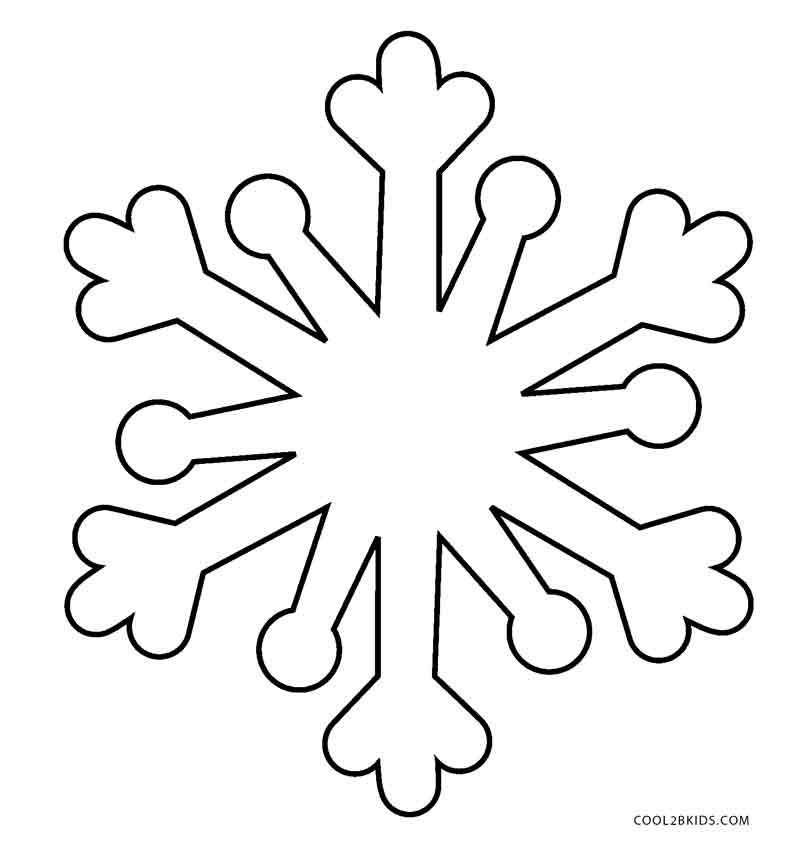 Coloring Pages Snowflakes
