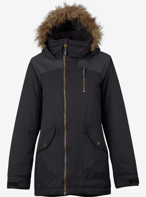 Burton Hazel Jacket | Black denim, Shops and Burton snowboards