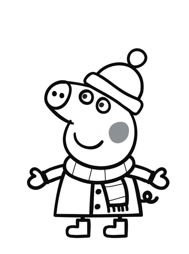 Svinka Peppa Raskraska Poisk V Google Peppa Pig Coloring Pages Peppa Pig Colouring Peppa Pig Drawing