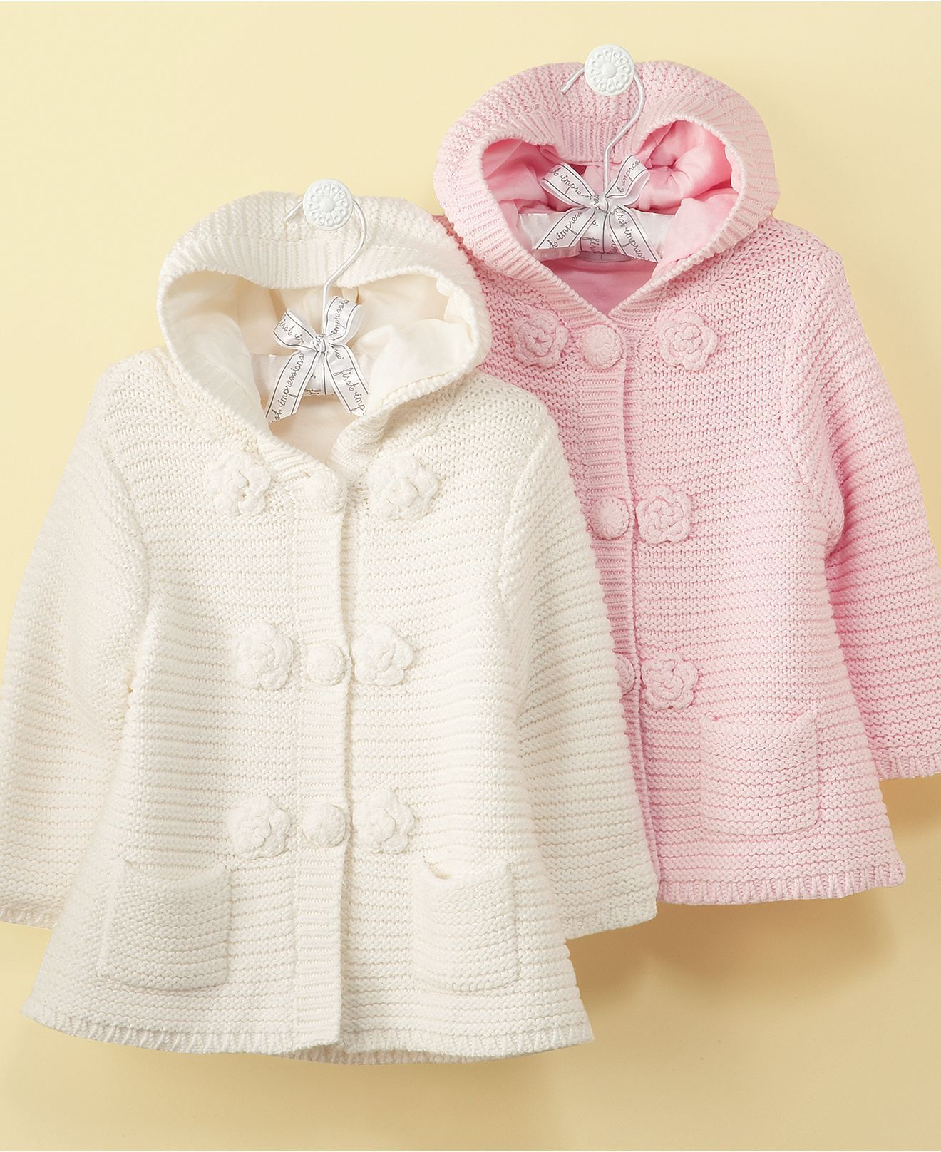 First Impressions Baby Jacket Baby Girls Sweater Jacket