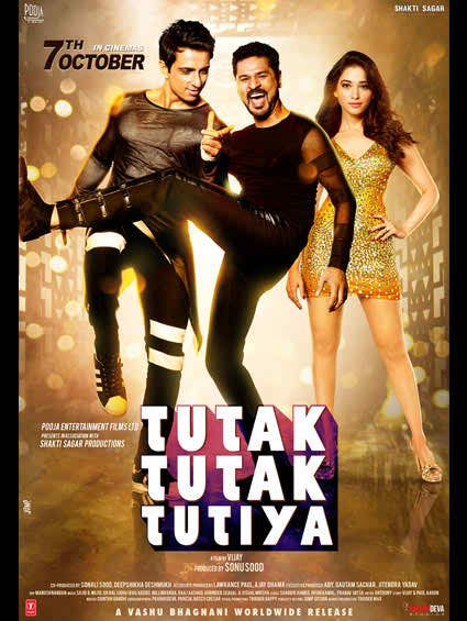 Tutak Tutiya 2016 Hindi Movie DVDScrRip 700MB MKV Genres Romance Comedy Horror Langu