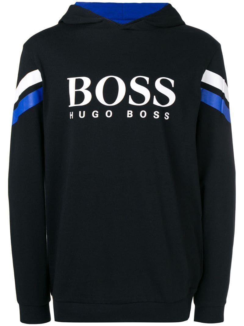 mens hugo boss black sweatshirt