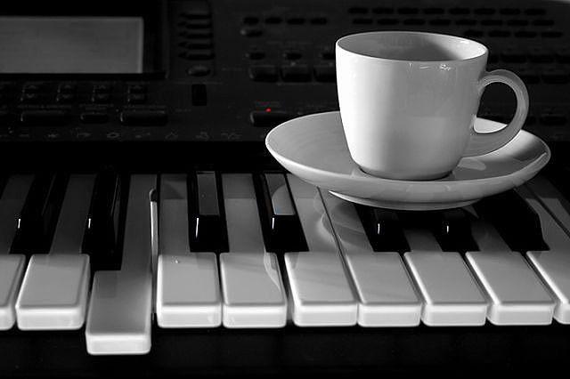 чай,кофе   Пианино, Музыка, Кофе