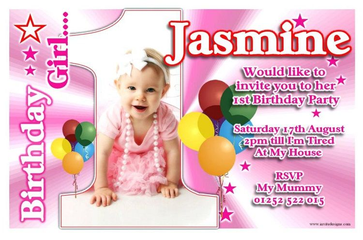 first birthday invitation in marathi