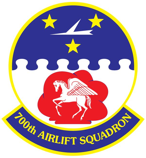 The 700th Airlift Squadron 700 As Is Part Of The 94th Airlift Wing At Dobbins Air Reserve Base Georgia It Operates Air Force Patches Military Insignia Usaf