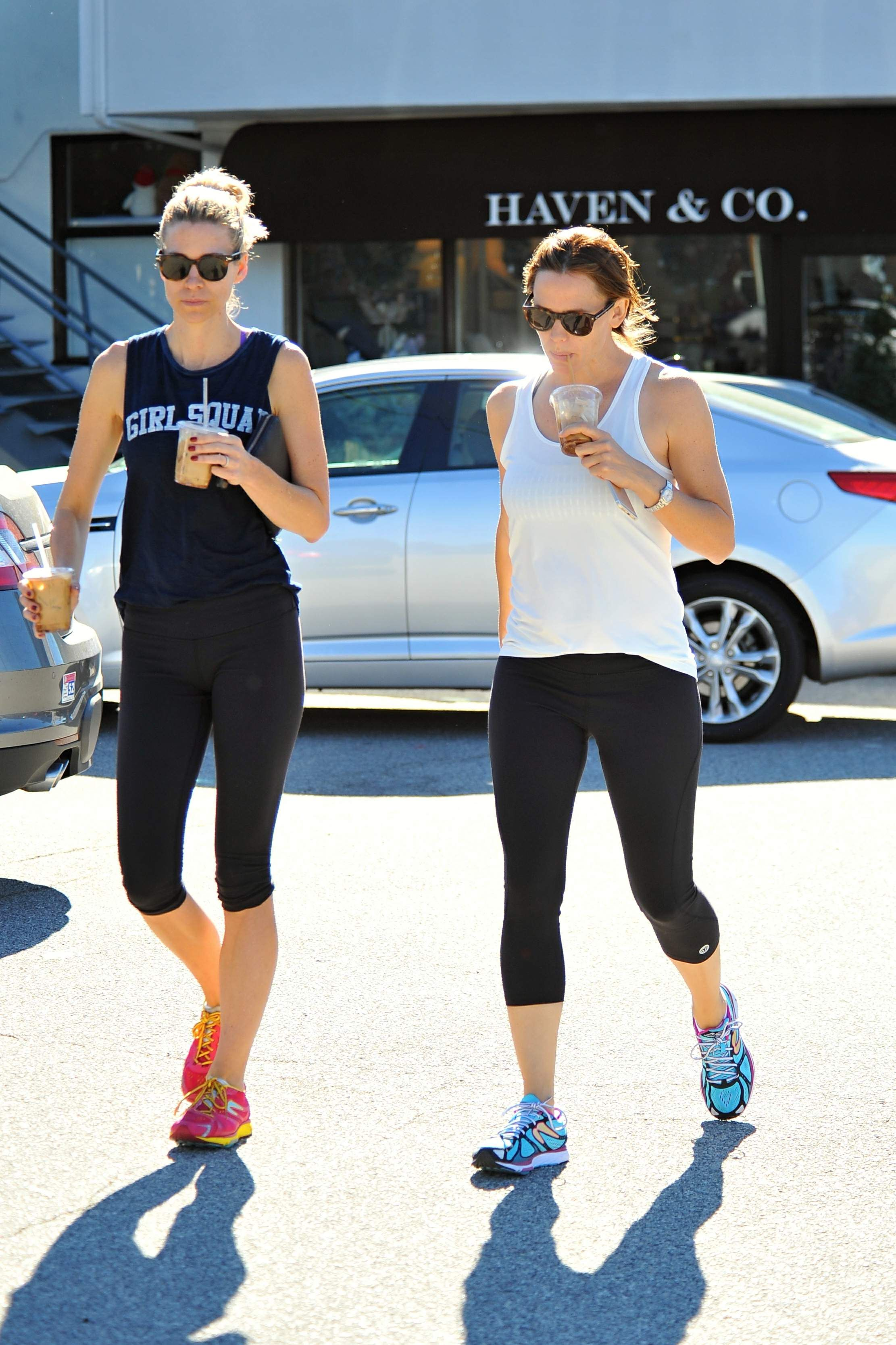 Jennifer Garner Leaving a Gym in LA 11/7/15