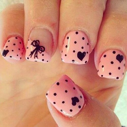 22 Best Valentine\'s Day Nail Designs for 2018 | Stylists and Manicure