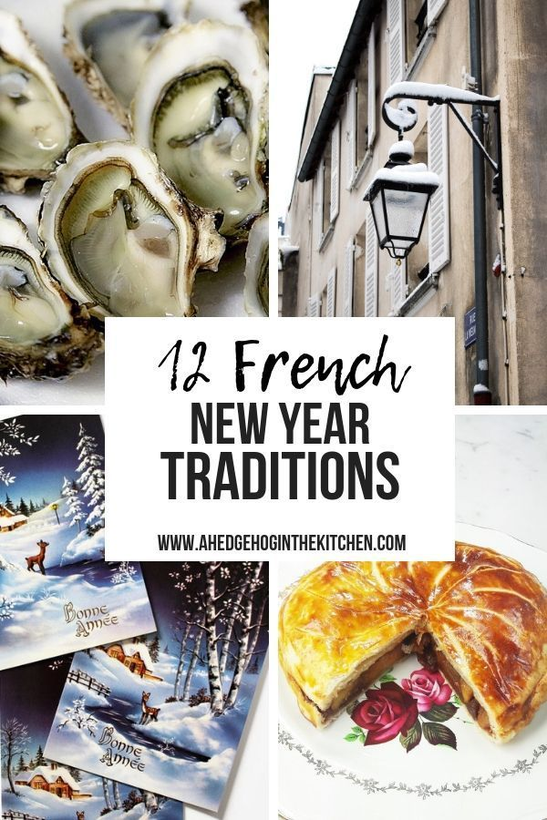 French New Year Traditions New years traditions, New