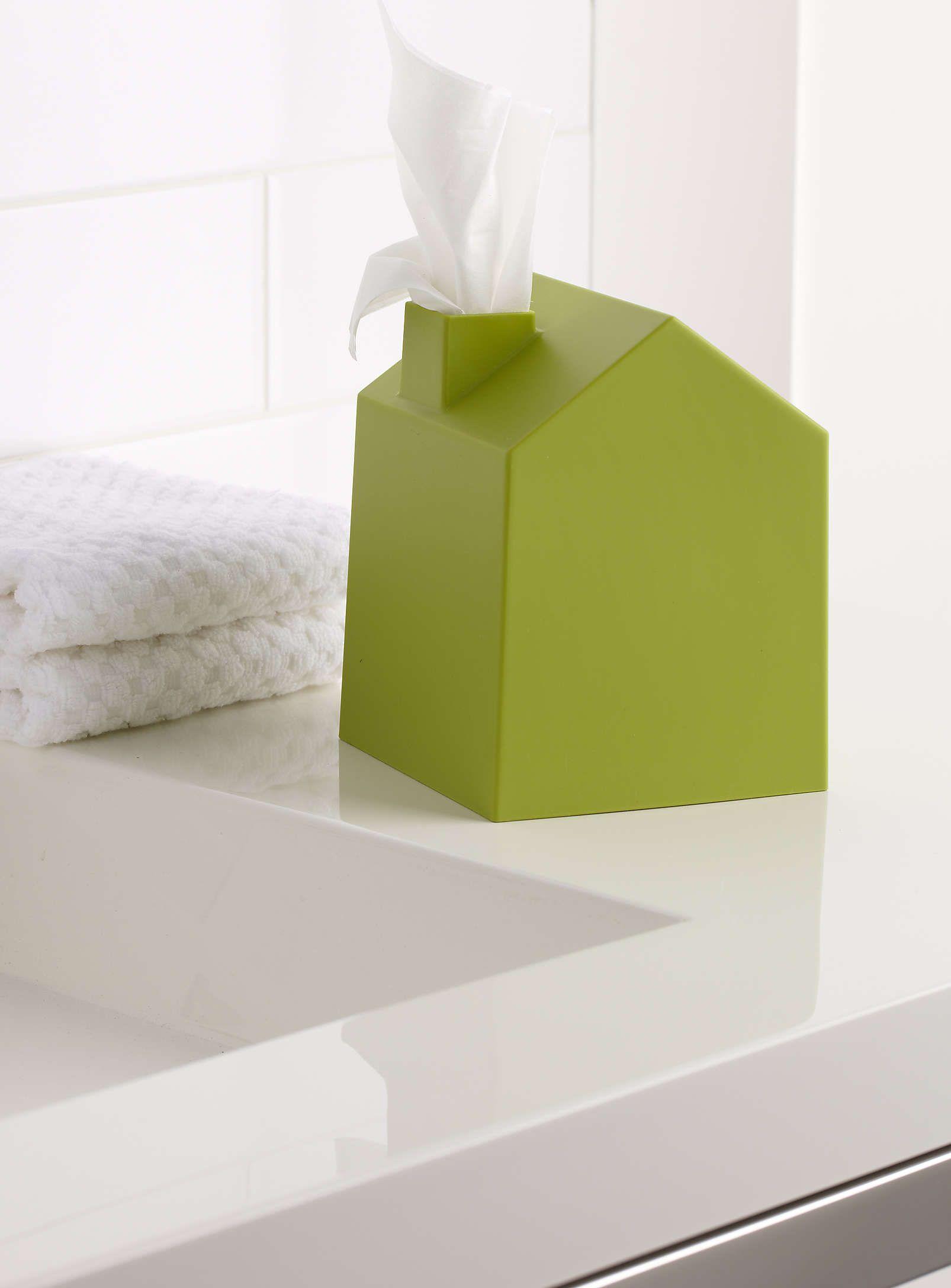 Accessoire Salle De Bain Homme ~ la petite maison papier mouchoir accessoires de salle de bains