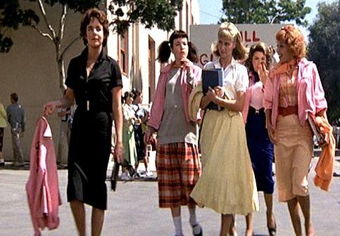 grease movie cast pink ladies