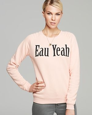 Zoe Karssen Eau Yeah Sweatshirt