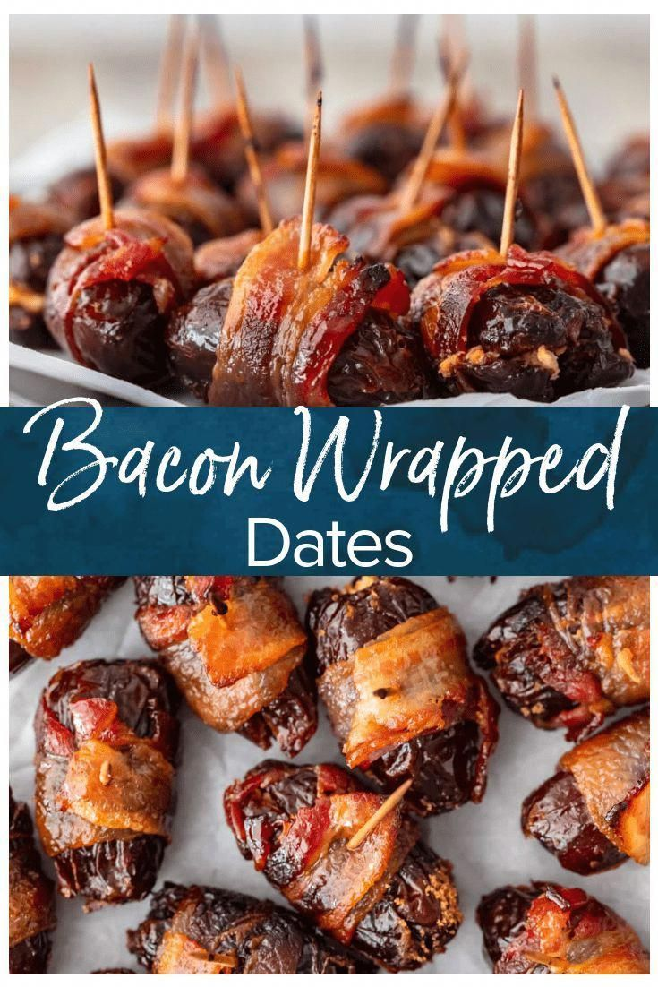 Bacon Wrapped Dates with Goat Cheese (VIDEO!!) in 2020