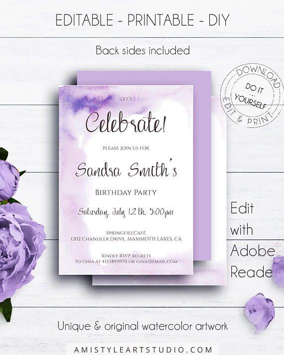 background for birthday invitation