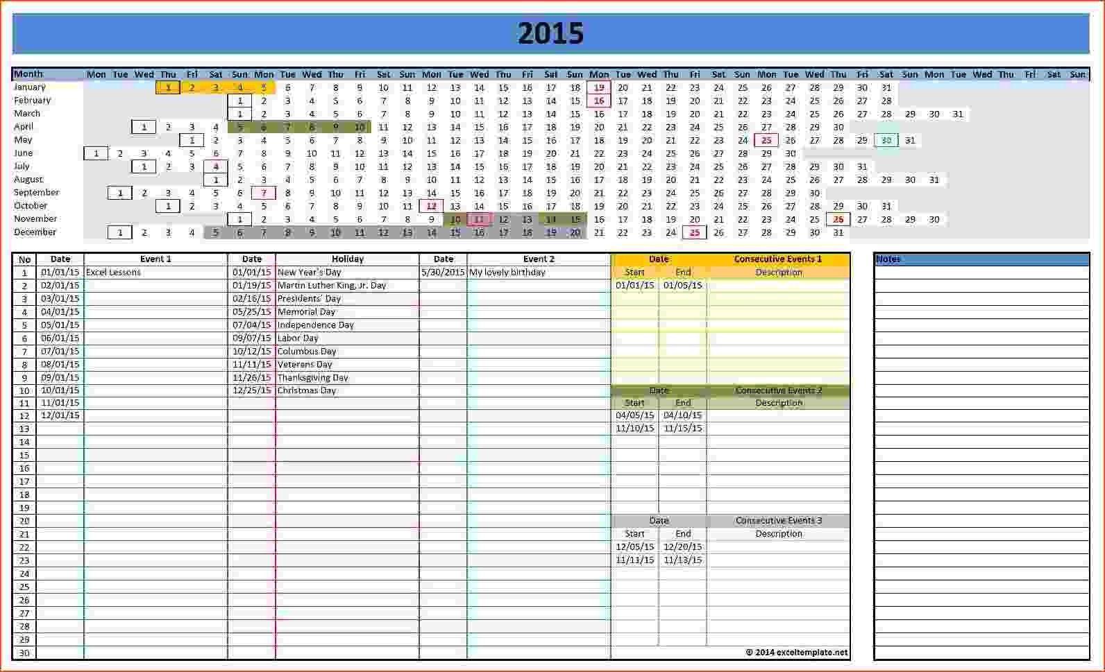 Microsoft Office Calendar Templates 2015 Calendar Linear