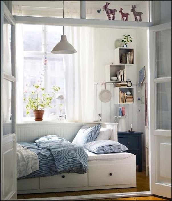 Cool 2012 Ikea Bedroom Design Inspiration For Small Space ...