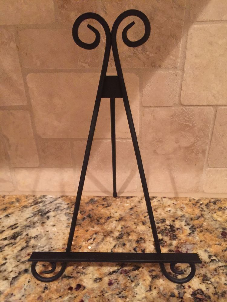 Decorative Wrought Iron Easel Display Stand 10 5