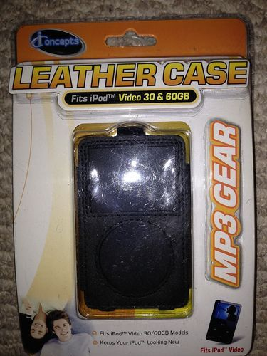 iConcepts Leather Case for iPod Video 30 /& 60GB MP3 Gear