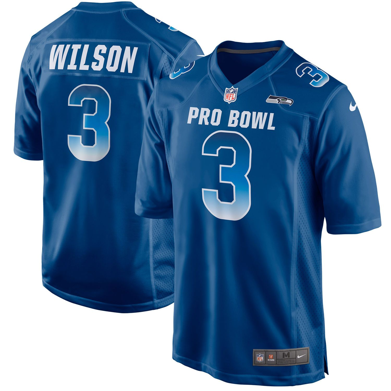 online store 34d7e fe1a3 russell wilson pro bowl jersey