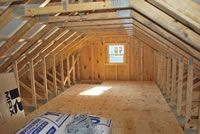 Onsite Garages Pennsylvania Maryland And West Virginia Attic Truss Roof Trusses Garage Building Plans