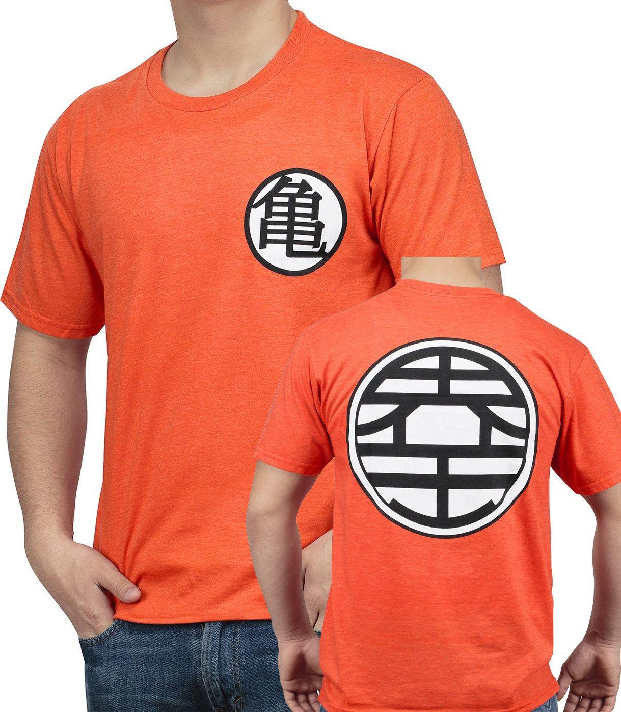 Dragon Ball Z Classic Kanji Symbols T Shirts 4 Types Balls Clothes Goku T Shirt Black Shirt
