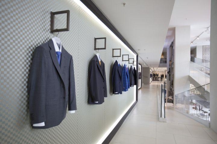 Emporium Men Store By Garde Italy Baku Azerbaijan Retail Design Blog Men Store Retail Store Design Design