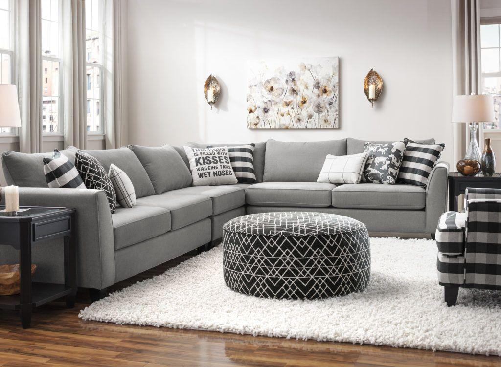 You Ll Love The Most Comfortable Black Buffalo Plaid Chair Raymour Flanigan Plaid Living Room Living Room Grey Grey Sofa Living Room