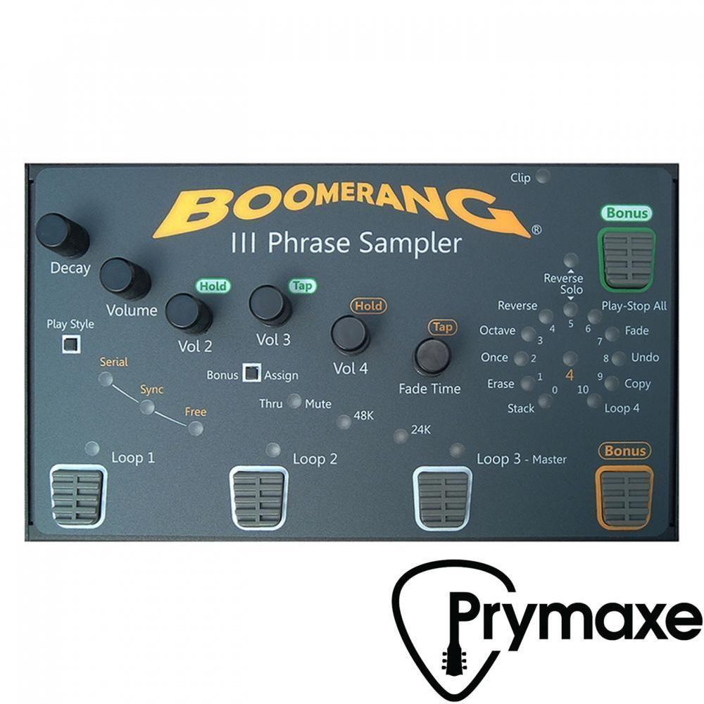 Boomerang Musical Products Boomerang Phrase Iii Looper Musical