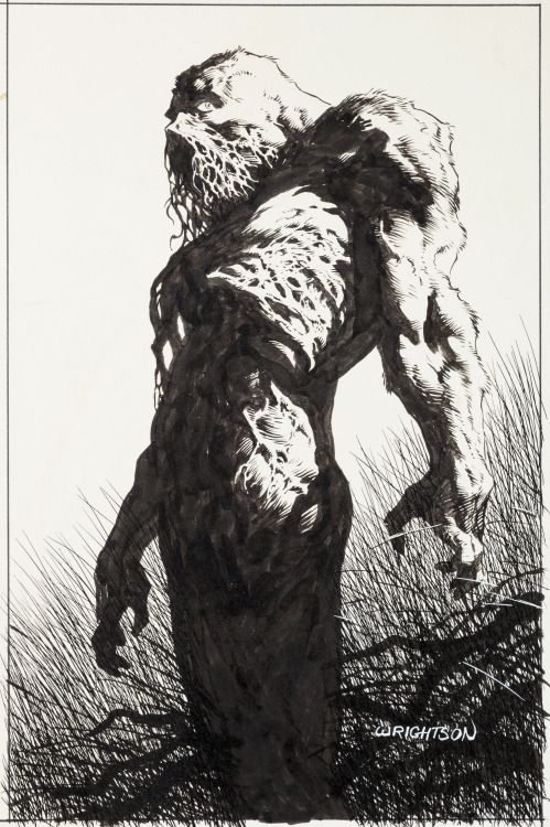 BENDIS! - Sunset by Bernie Wrightson