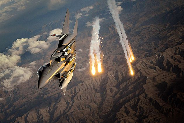 3. F-15 STRIKE EAGLE The McDonnell Douglas (now Boeing) F-15E Strike Eagle is an American all-weather multirole fighter, derived from the McDonnell Douglas F-15 Eagle. The F-15E was designed in the 1980s for long-range, high speed interdiction without relying on escort or electronic warfare aircraft. United States Air Force (USAF) F-15E Strike Eagles can be distinguished from other U.S. Eagle variants by darker camouflage and conformal fuel tanks mounted along the engine intakes. The Strike…
